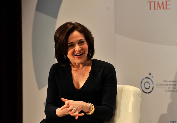 Sheryl Sandberg, COO do Facebook (Foto: Getty Images)