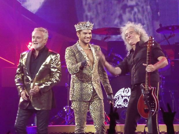 Queen + Adam Lambert (Foto: Reproduo)