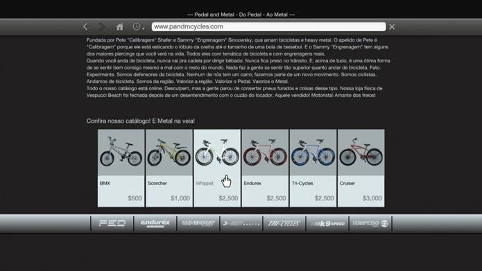 Compre bikes no site pandmcycles.com (Foto: Reprodução/Murilo Molina)