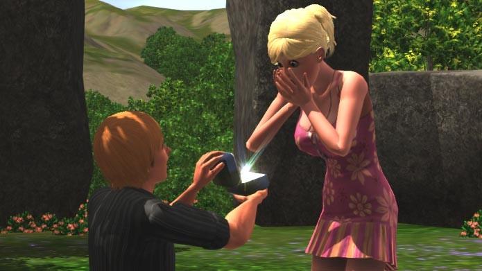 Quando o relacionamento evoluir, peça o outro Sim em casamento (Foto: Reprodução)
