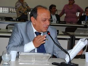 Deputado Jorge Salomãio (DEM) autor da proposta (Foto: Jaciguara Cruz/Ascom/AL-AP)