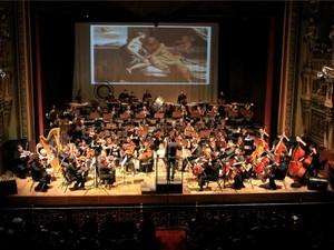 Oesquestra tem planos de fazer espetáculos com trilha sonoras de games (Foto: Marcos Dantas/G1 AM)