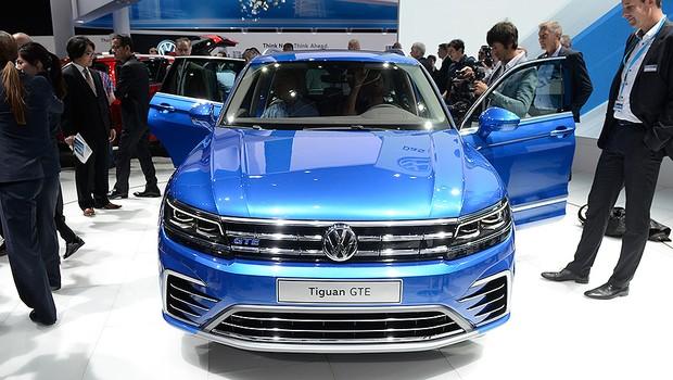 Volkswagen Tiguan no Salão de Frankfurt 2015 (Foto: Newspress)