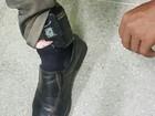 Homem com tornozeleira eletrônica é preso fazendo assalto à mão armada