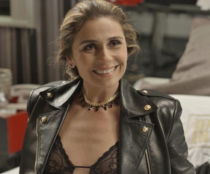 Romero não imaginava que Atena fosse escapar da facção (Foto: TV Globo)