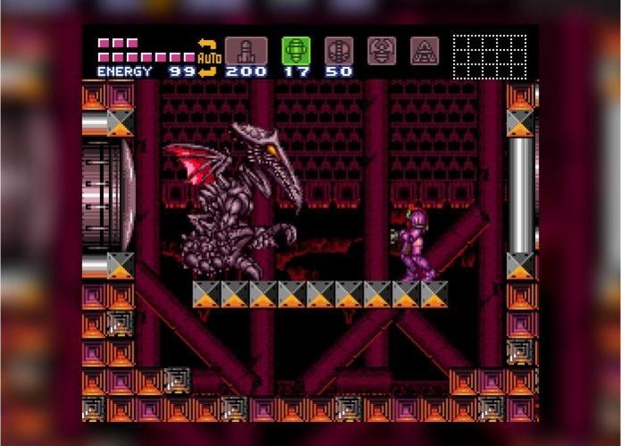 Metroid: Ridley, um dos mais famosos vilões do jogo, foi baseado em Ridley Scott, diretor do filme Alien (Foto: Reprodução/Paulo Vasconcellos)