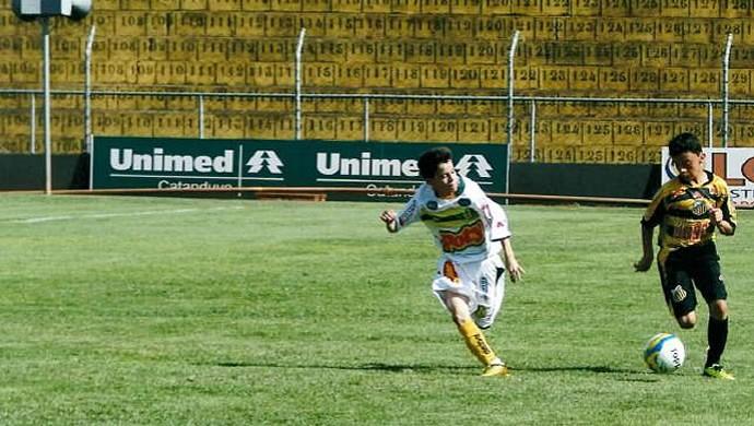 Vinicius Fernando, promessa do Novorizontino, em partida contra o Mirassol  (Foto: Arquivo Pessoal)
