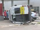 Vídeo mostra acidente com Van escolar que deixou 8 feridos no ES