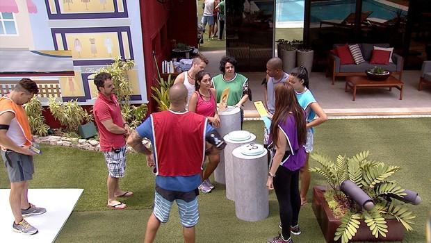BBB às 11h29m do dia 28/02. (Foto: Big Brother Brasil)