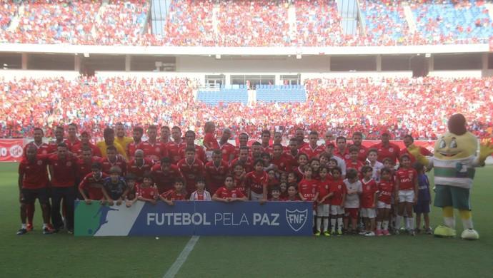 América-RN campeão (Foto: Fabiano de Oliveira)