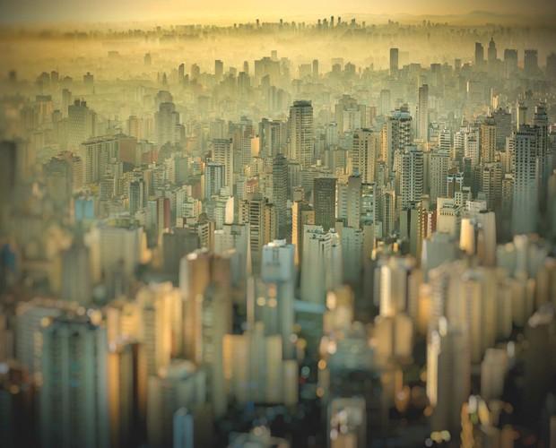 Fim de tarde em São Paulo (Foto: Eduardo Edinger)