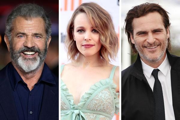 Mel Gibson, Rachel McAdams e Joaquin Phoenix já recusaram papeis dentro universo de heróis da Marvel nos cinemas (Foto: Getty Images)