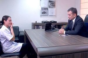 'Chefe Secreto' abre o jogo e revela disfarce a funcionários (Rede Globo)