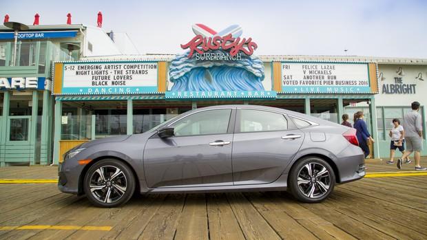 Honda Civic: veja fotos da 10ª geração