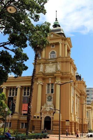 Margs, Museu de Arte do Rio Grande do Sul, fica no Centro de Porto Alegre (Foto: Divulgação)