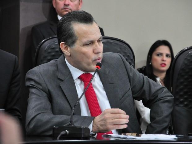 Silval Barbosa defendeu obras da Copa e alegou que teve de encarar um governo atípico. (Foto: Renê Dióz / G1)