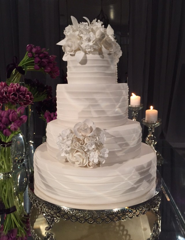 O bolo do casamento (Foto: QUEM)