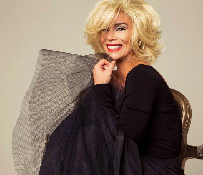 A atriz interpretou Marilyn Monroe nos teatros em peça última dirigida por Marília Pêra (Foto: Divulgação)