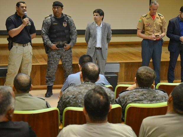 PMs foram apresentados na tarde desta sexta-feira (19), em Rio Branco (Foto: Alexandre Noronha/Seacom)
