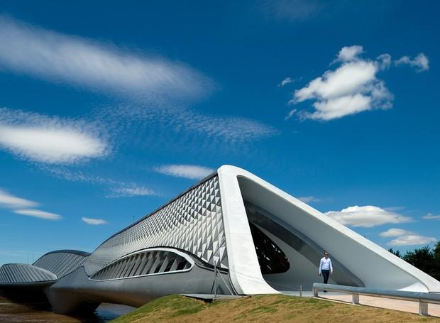Zaragoza Bridge Pavilion, de Zaha Hadid (Foto: Reprodução)