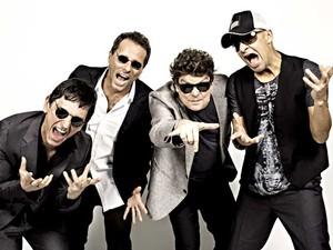 Paulo Miklos, Tony Bellotto, Branco Mello e Sérgio Britto, dos Titãs (Foto: Marcos Hermes/Divulgação)