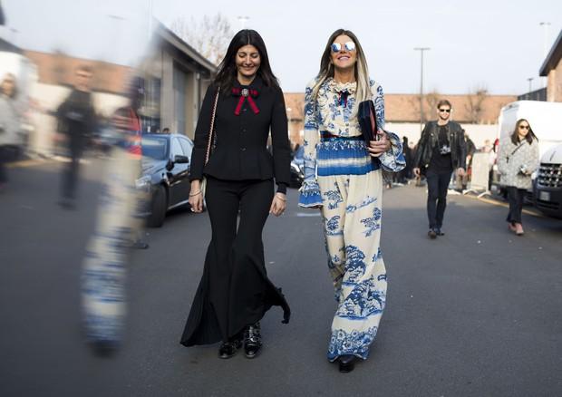 Street style, MFW, inverno 2018: dia 1 (Foto: Adriano Cisani)