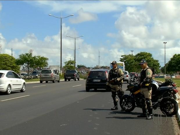 Operação Carnaval no RN já autuou 234 motoristas, com 13 prisões (Foto: Reprodução/Inter TV Cabugi)