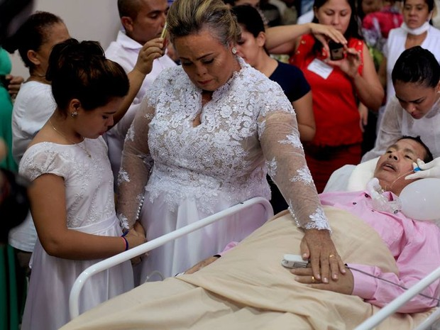 Nascimento morreu após cinco dias de casado (Foto: Beto Monteiro/Divulgação)