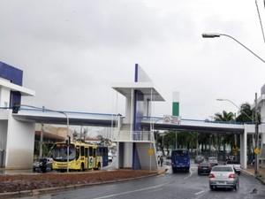 Secretaria de Trânsito e Transportes vai testar a passarela nesta segunda-feira (Foto: Daniel Nunes/Secom/Divulgação)