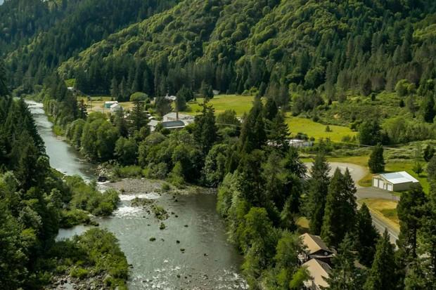 Tiller, no Oregon, está à venda (Foto: Divulgação)
