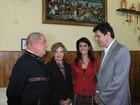 Dilma e Lula visitam exposição em São Paulo com Haddad