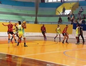 Santo André x Presidente Venceslau, Campeonato Paulista de Basquete Feminino (Foto: FPB / Divulgação)