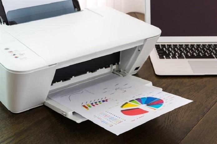 Exemplo de impressão colorida numa impressora a laser (Foto: Divulgação) (Foto: Exemplo de impressão colorida numa impressora a laser (Foto: Divulgação))