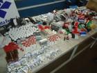 Fiscais encontram 14,5 mil ampolas de anabolizantes e remédios em ônibus