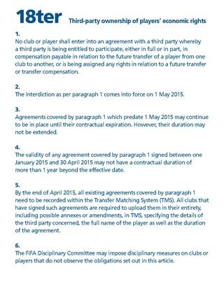 regulamento fifa transferencias (Foto: Reprodução)