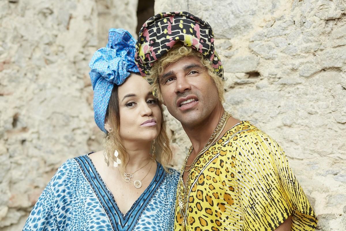 Pamela e Jefinho tero uma filha na nova temporada de Os Suburbanos (Foto: Divulgao/Multishow)