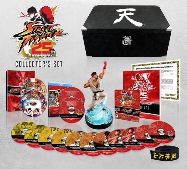 Edição de colecionador comemora os 25 anos da franquia 'Street Fighter' (Foto: Divulgação)