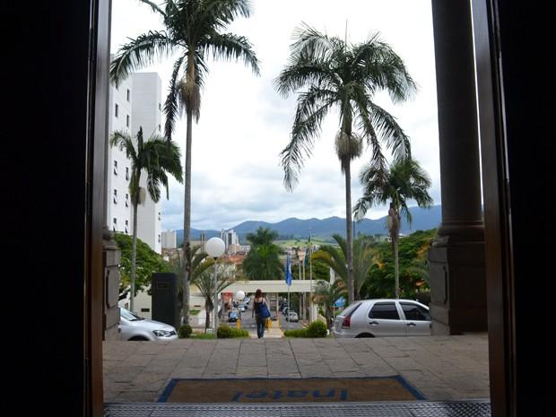 É na sala de aula que surge o desenvolvimento de Santa Rita do Sapucaí, MG, conhecida pela economia formada em tecnologia (Foto: Daniela Ayres/ G1)
