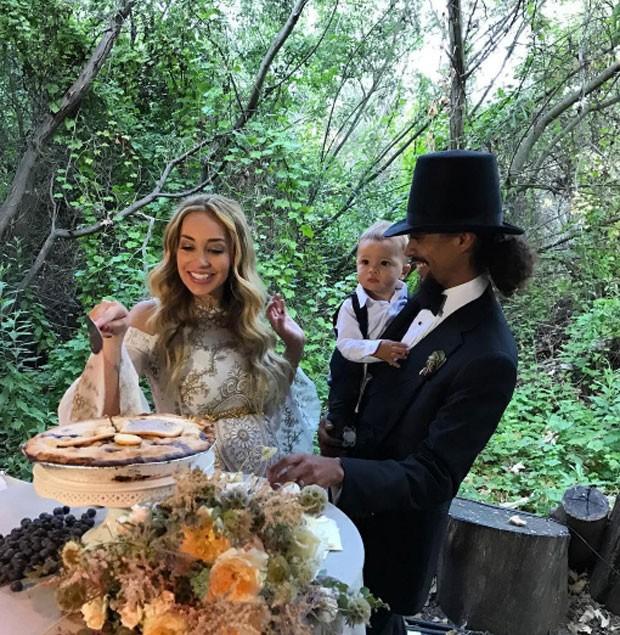 Os noivos (Foto: Reprodução)