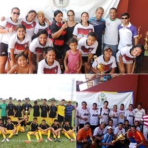 Vencedores do Campeonato Municipal de Guajará-Mirim (Foto: Prefeitura de Guajará-Mirim/Divulgação)