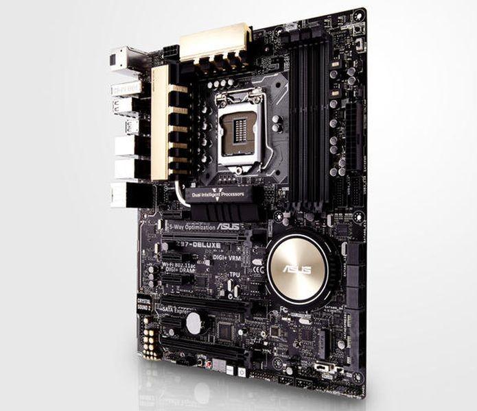 Placa nova da ASUS é voltada para a quinta geração de processadores (Foto: Divulgação) (Foto: Placa nova da ASUS é voltada para a quinta geração de processadores (Foto: Divulgação))