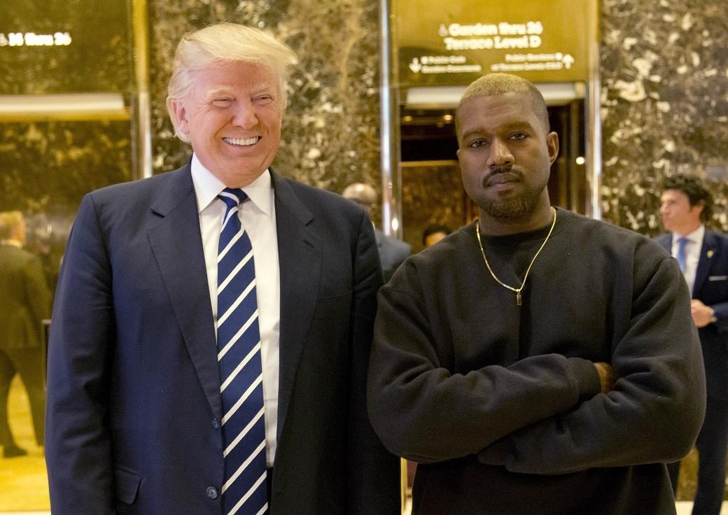Kanye West e Donald Trump se reuniram nesta semana (Foto: AP Photo/Seth Wenig)