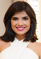 Vanessa Giácomo exibe novo visual em evento de beleza em São Paulo