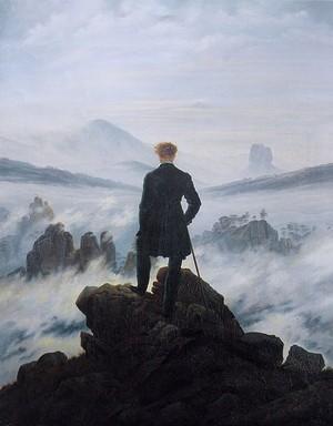 O Peregrino Sobre o Mar de Névoas (1818)  (Foto: Pintura: Caspar David Friedrich / Reprodução)