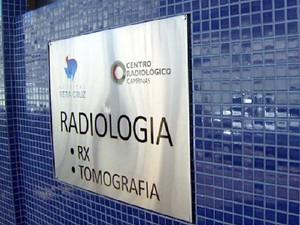 Hospital Vera Cruz em Campinas, onde ocorreram as mortes (Foto: Reprodução EPTV)