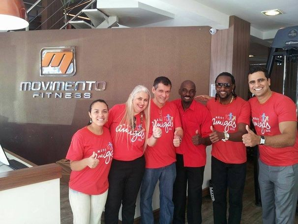 Equipe Vermelha segue em busca de doações para o Projeto Punhos de Ouro (Foto: Divulgação/TV Sergipe)