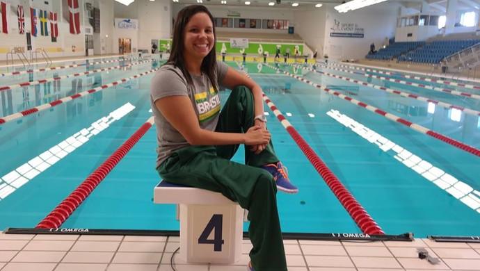 Edênia Garcia, nadadora paralímpica (Foto: Divulgação)