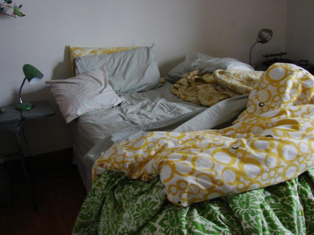 Deixar a cama desarrumada pode ser bom para a saúde