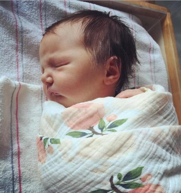 A pequena Lillian Belle Tripson (Foto: Reprodução Instagram)