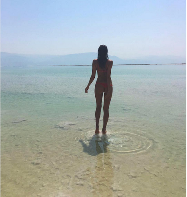 A modelo Irina Shayk (Foto:  Instagram)